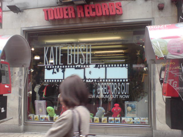 Tower Records, Dublin, May 13th, 2011