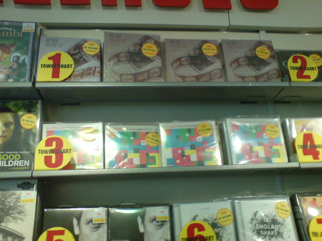 Tower Records, Dublin, June 1st 2011