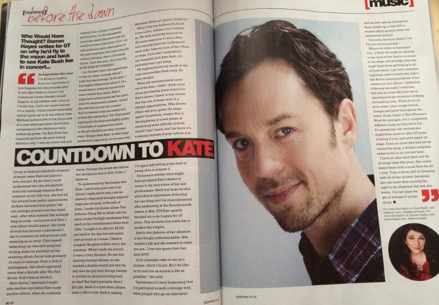 Darren Hayes in Gay Times