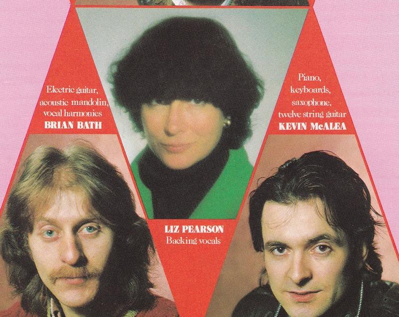 Liz Pearson 1979 tour programme