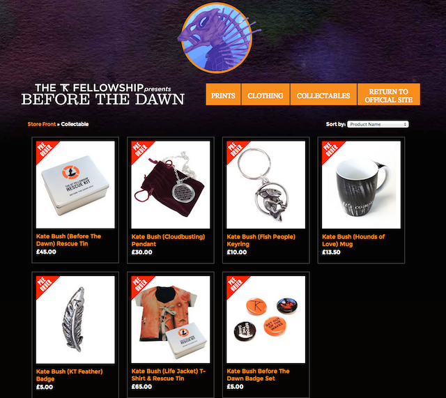 Before the Dawn merch store