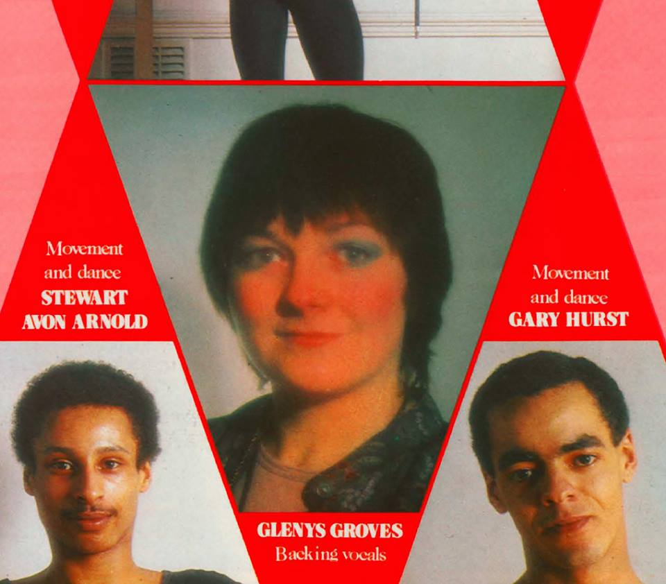 Glenys Groves tour programme 1979
