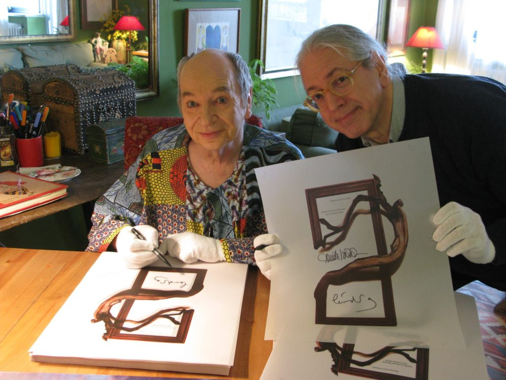 Lindsay Kemp and Guido Harari