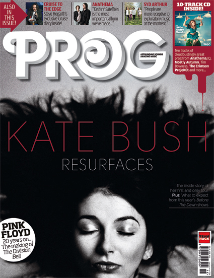 Prog Magazine - Kate Bush Resurfaces