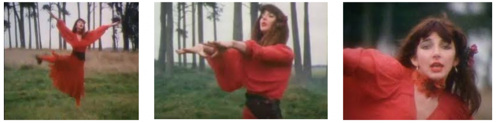 Kate Bush Wuthering Heights red dress