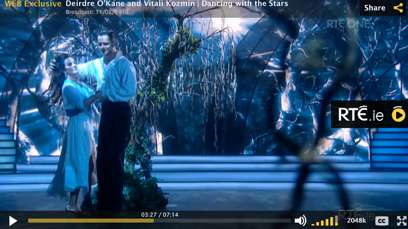 Deridre O'Kane Dancing with the Stars