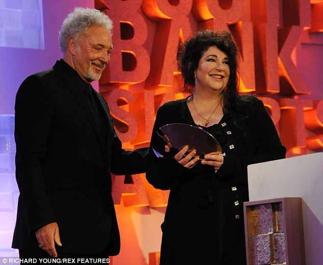 Kate gets South Bank Award
