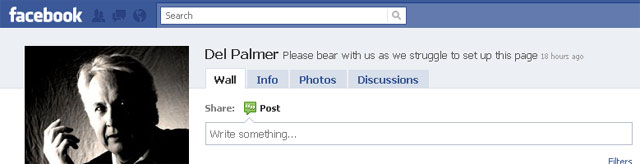 Del Palmer on Facebook