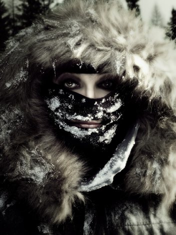 Kate Bush in the snow - 2011