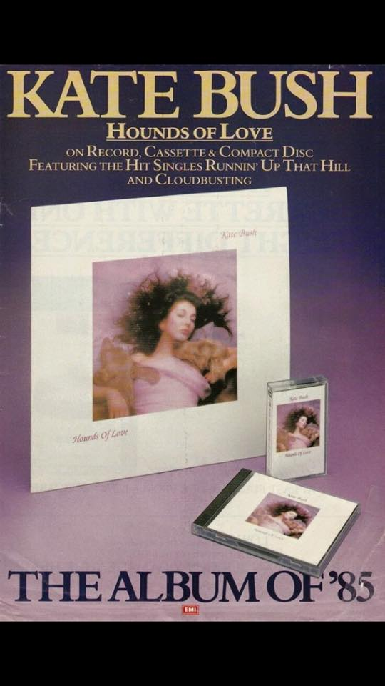 Hounds of Love print ad 1985