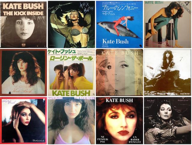 Kate Bush rare vinyl