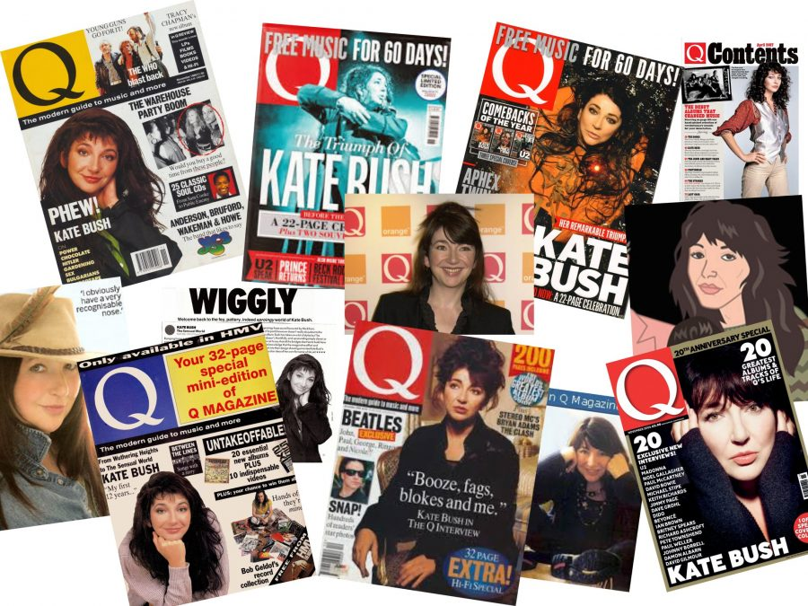 Kate Bush features in Q Magazine through the years