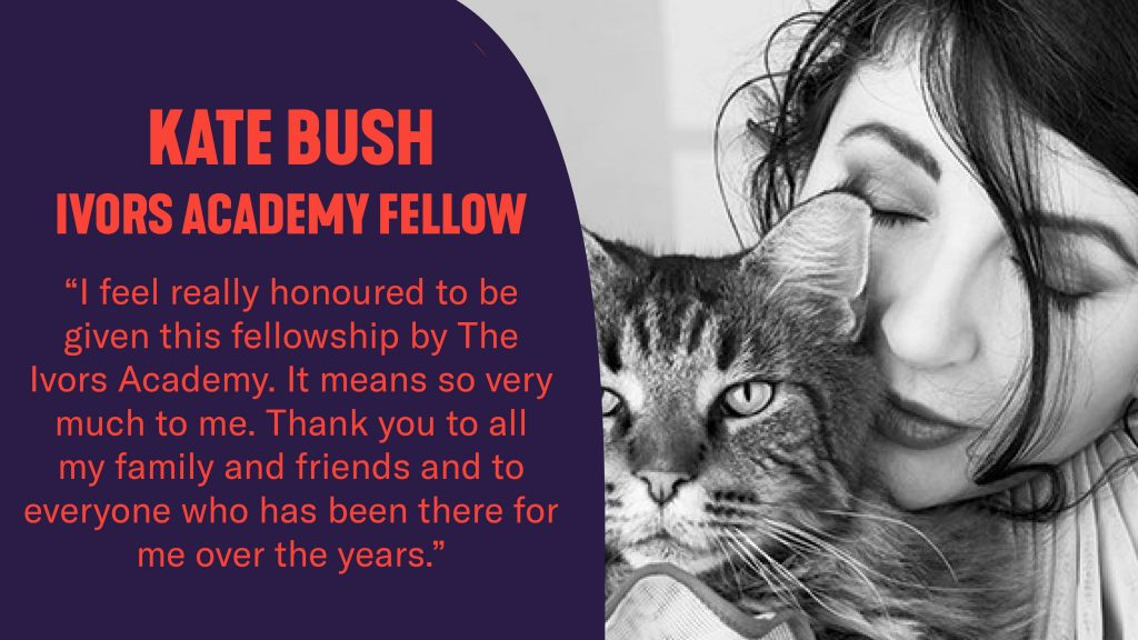 Kate Bush statement on receiving the Ivors Academy Fellowship
