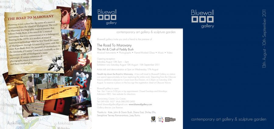 Road to Marovany - Bluewall flyer