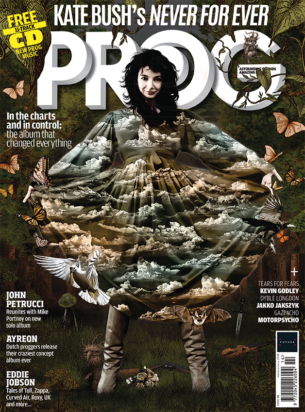 Prog Magazine Never For Ever cover
