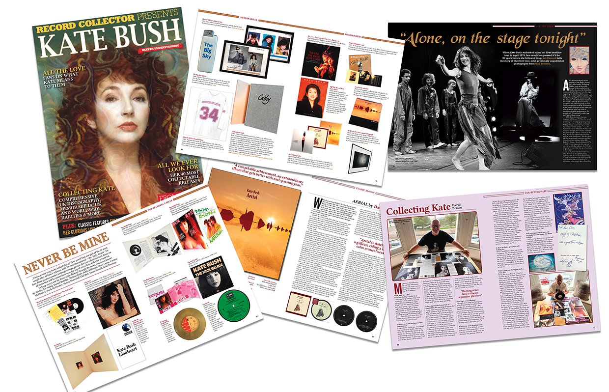 Record Collector Magazine Preview pages