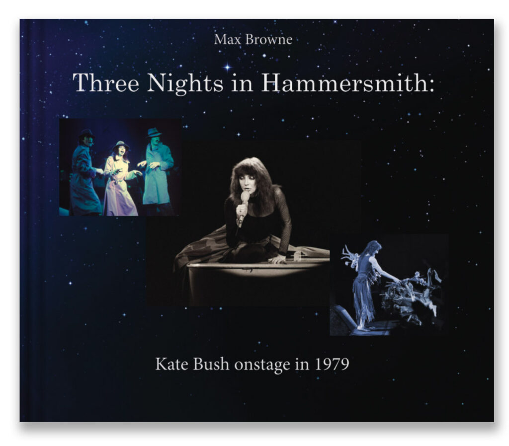Three Nights in Hammersmith book cover