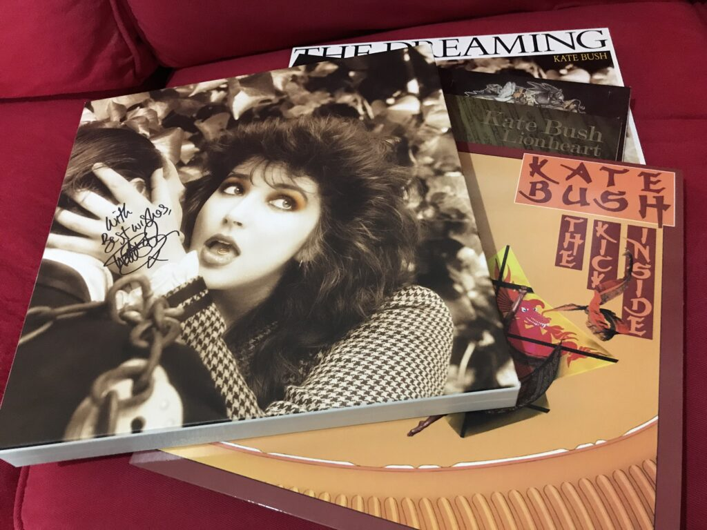 Kate Bush Signed Remastered in Vinyl box set