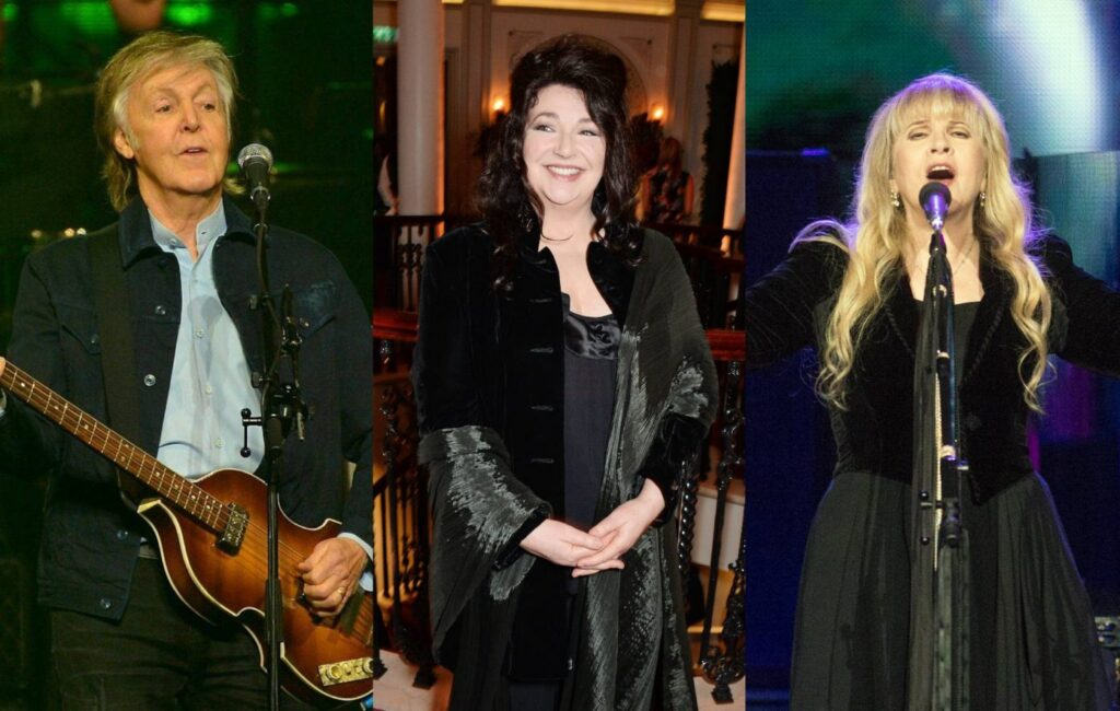 Kate, Paul McCartney, Stevie Nicks