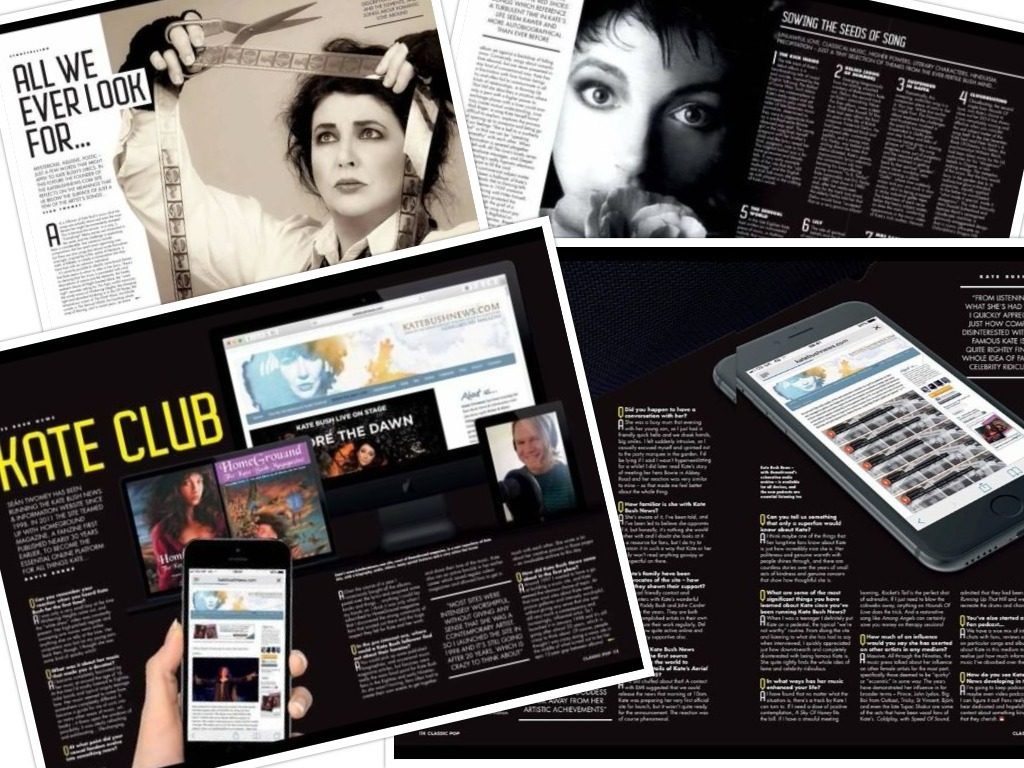 Kate Bush News in Classic Pop
