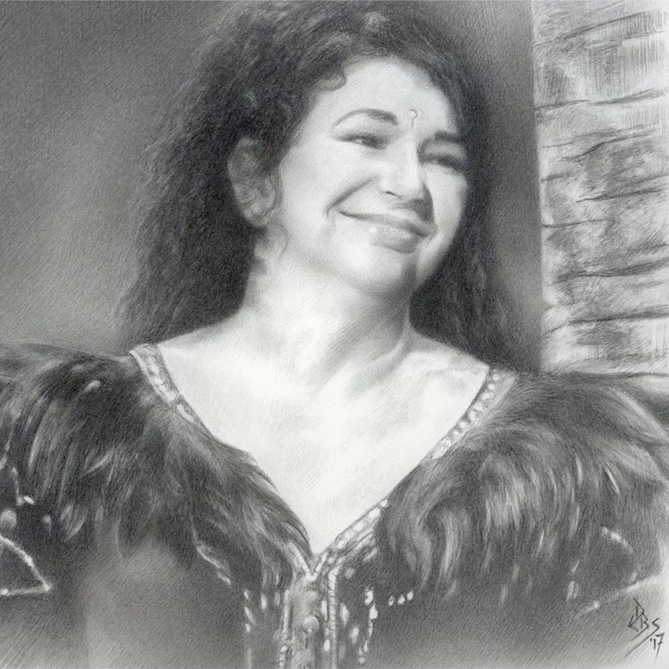Kate Bush 2014 by Debi Bowes