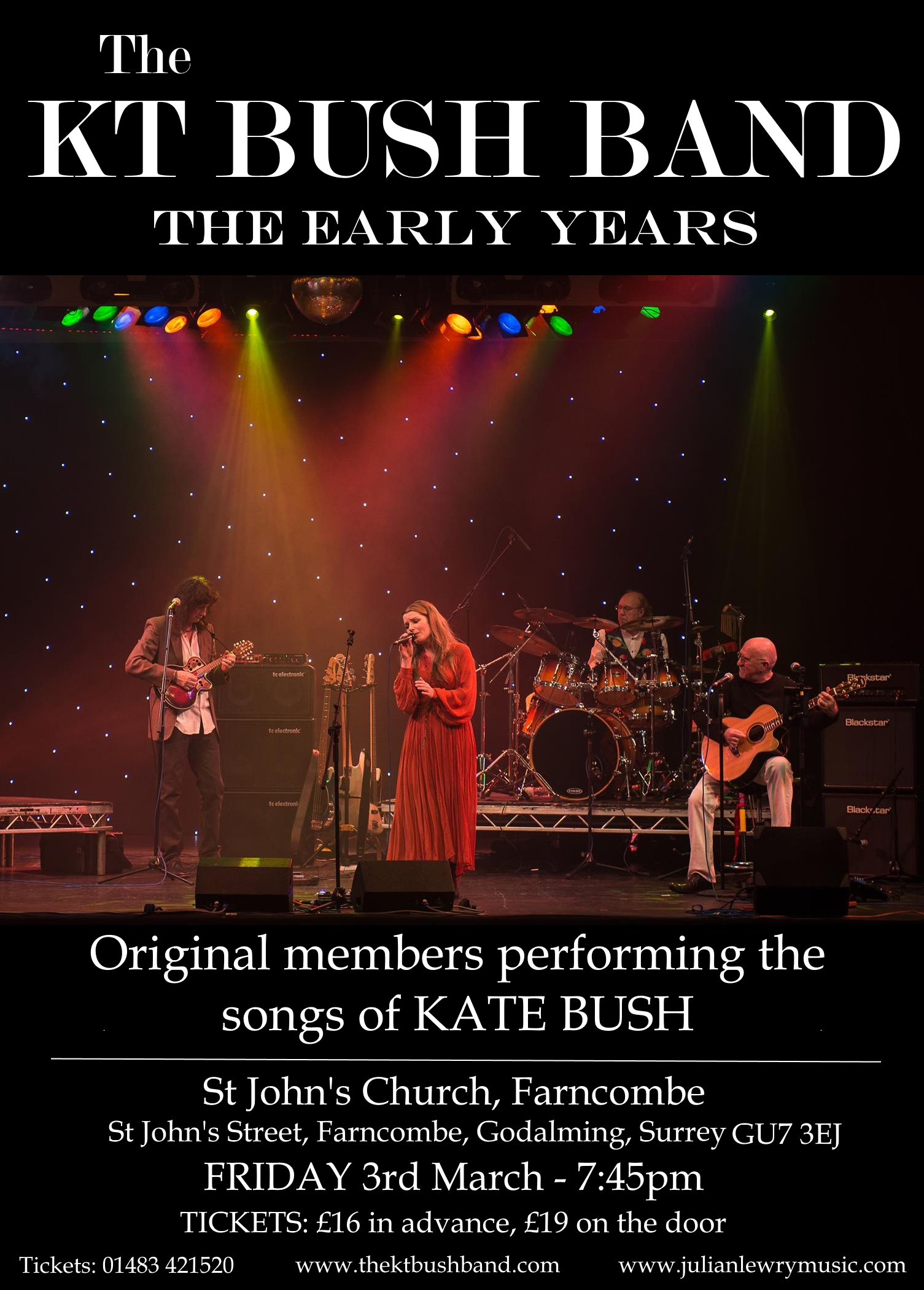 KT Bush Band Poster
