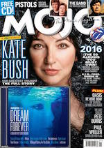 Kate Bush on the cover of Mojo January 2017 issue