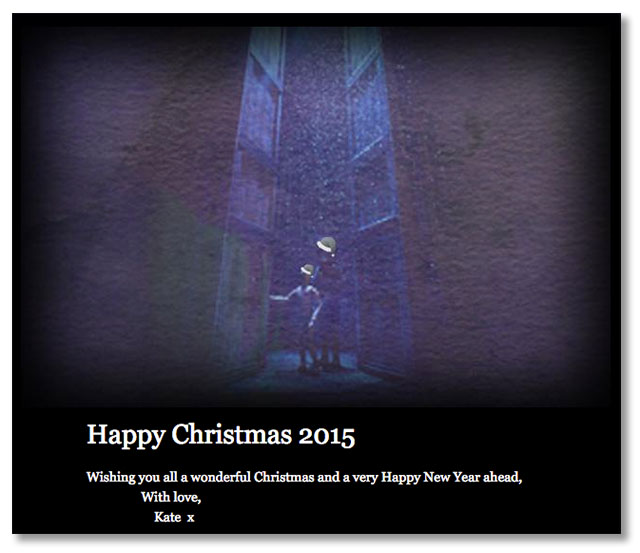 Kate's Christmas message 2015