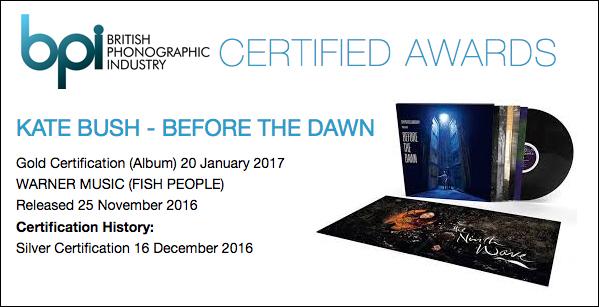 BPI Gold certification