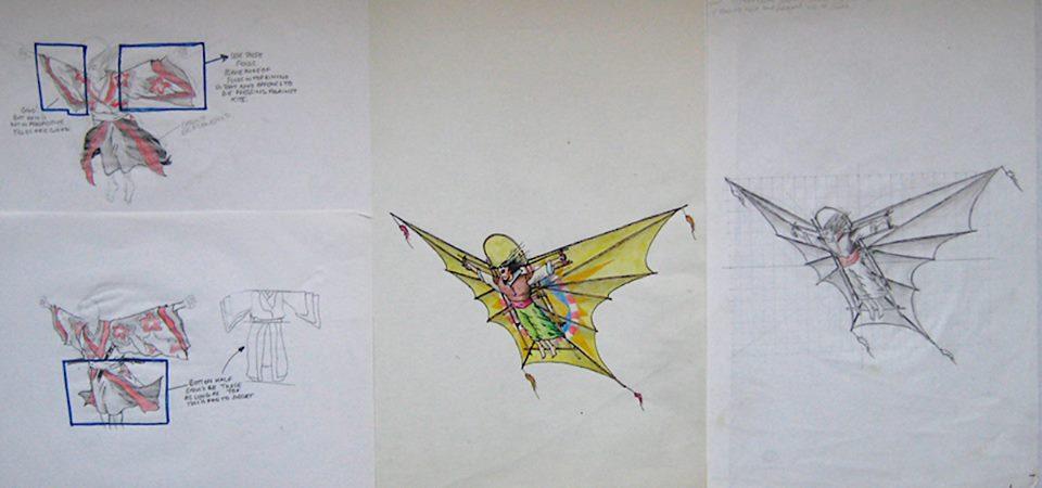 Del Palmer kite concept