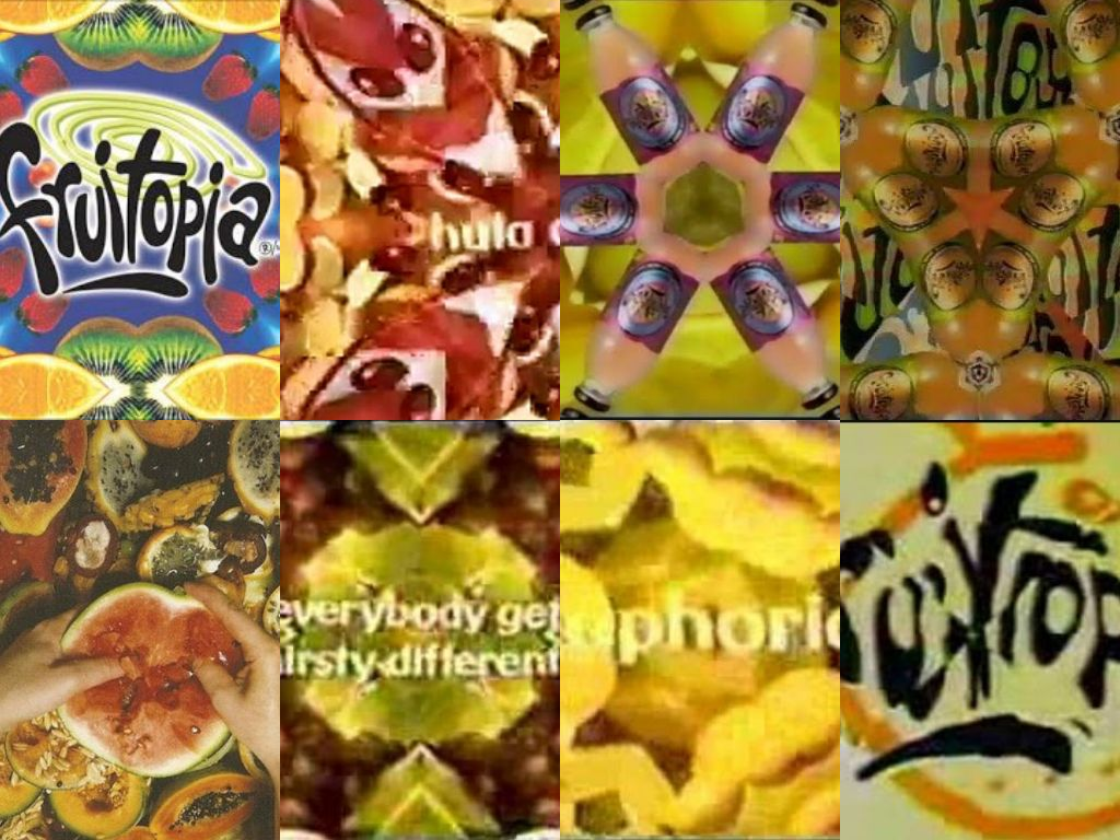 Fruitopia (collage)