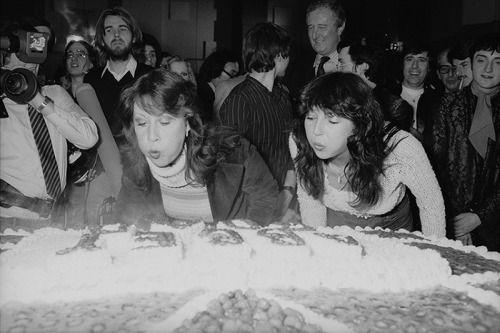 Kate and Helen Shapiro 1981