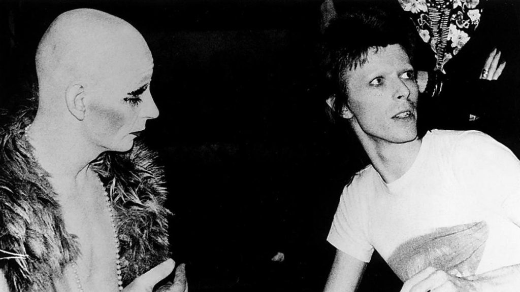 Lindsay Kemp and David Bowie