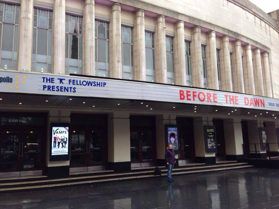 Hammersmith Apollo August 25th 2014