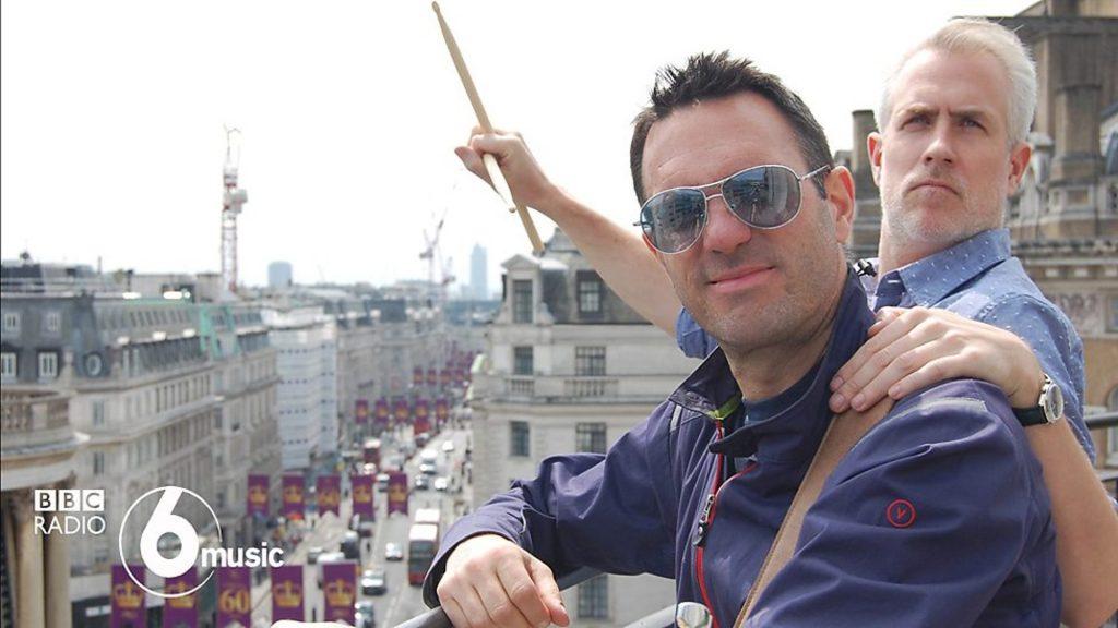 Matt Everitt and Shaun Keaveny BBC6Music