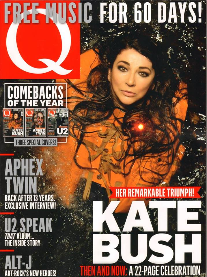 Q Magazine Has Kate Cover Feature Quot Her Remarkable
