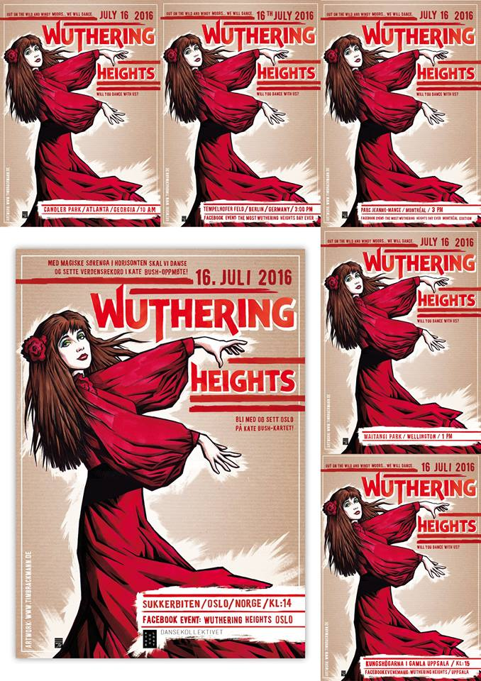 wuthering posters